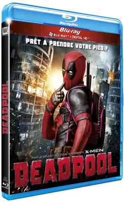 Bluray-DVD-Blu-ray-Deadpool-France