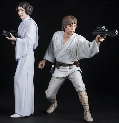 Luke-Skywalker-princess-leia-Figurine-Kotobukiya