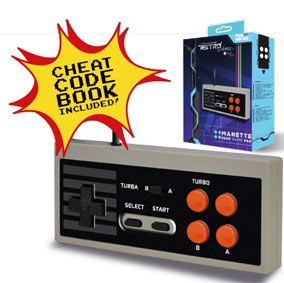 Steelplay-Manette-Edge-Mini-nes-classic-copatible-livre-triche