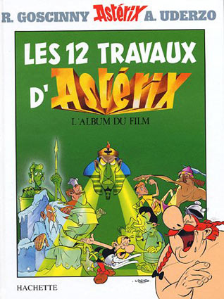 BD-album-Artbook-les-12-travaux-d-asterix-edition-limitee-collector