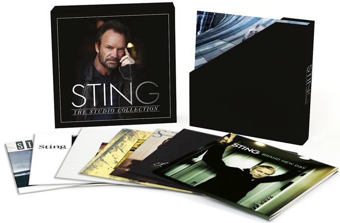 Sting Coffret Collector Integrale Album Complete Studio