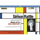 Sir S. Rattle Explores and Conducts Music of the 20th