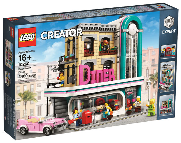 Lego-creator-10260-Diner-downtown-centre-ville