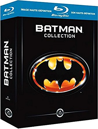 Coffret integrale Batman Tim Burton Blu-ray DVD steelbook