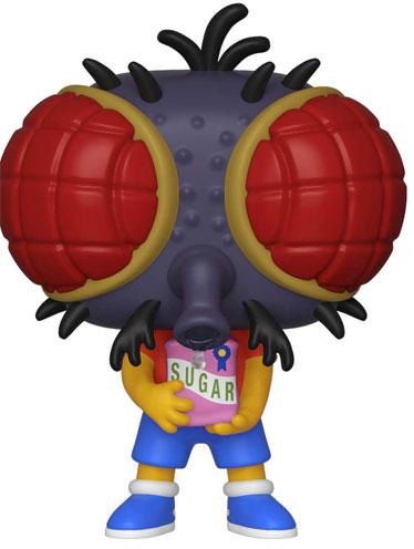 Bart fly mouche figurine funko pop horror halloween