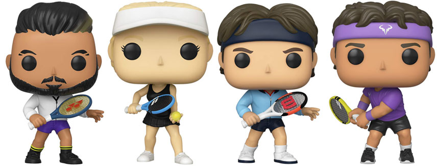 Funko pop tennis legendes legends 2020