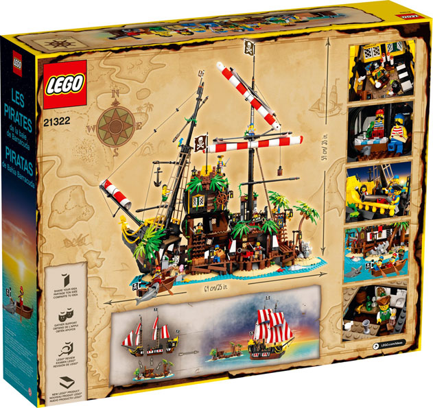 Lego Pirate 21322 collection ideas 2020
