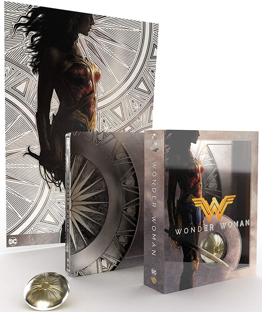 Steelbook collector wonder woman bluray 4k