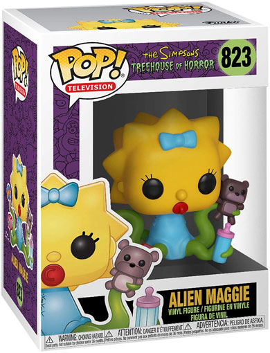 Treehous of horror figurine funko pop maggie simpsons