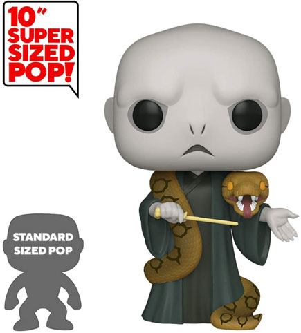 funko pop voldemort nagini figurine super sized