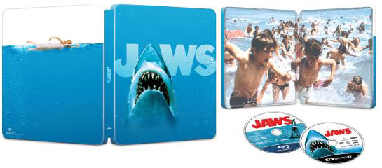 steelbook 4k jaws 45th