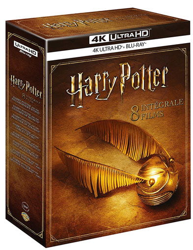Harry Potter Steelbook Integrale Films Livres Coffret
