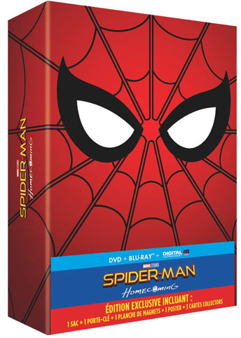 Coffret-collector-Spiderman-exclusif-tshirt-sac-poster