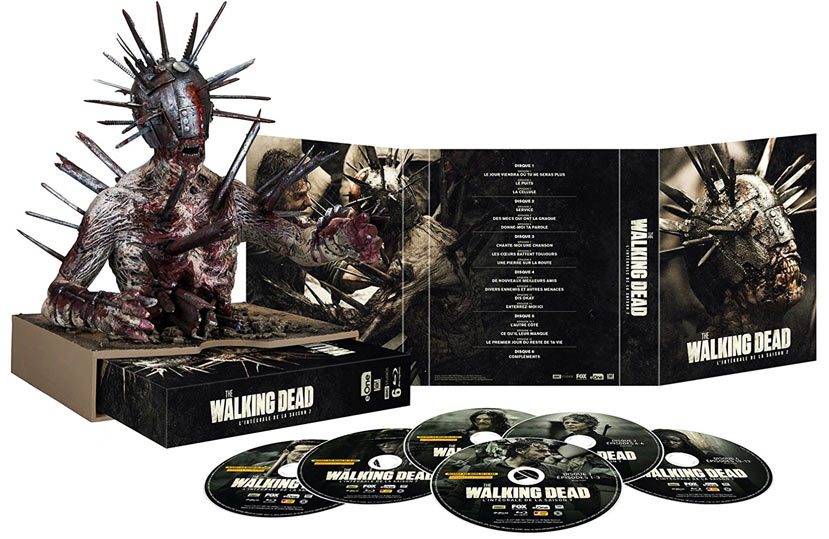 Coffret-collector-TWD-Walking-Dead-saison-7-figurine-zombi-2017