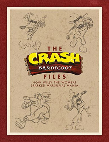 livre-Artbook-Crash-Bandicoot-Files-Dark-Horse-2017
