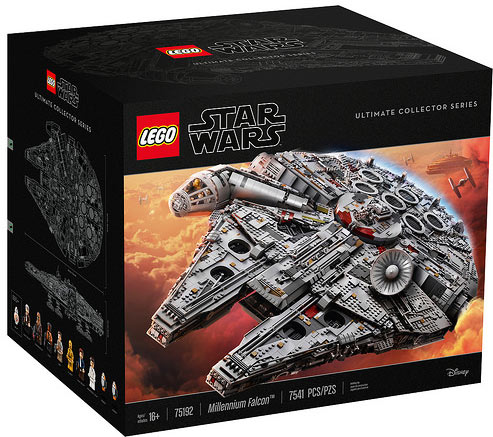 Faucon-millenium-75192-Lego-UCS-Collector-star-wars