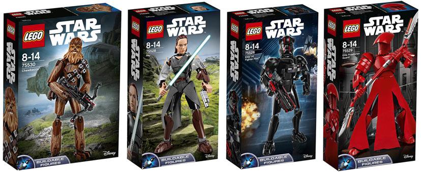 collection de grande figurine star wars lego