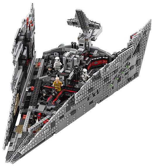lego star wars star destroyer 2017 collection first order
