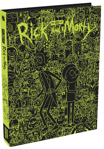 Artbook-fluorescent-Rick-Morty-glow-dark