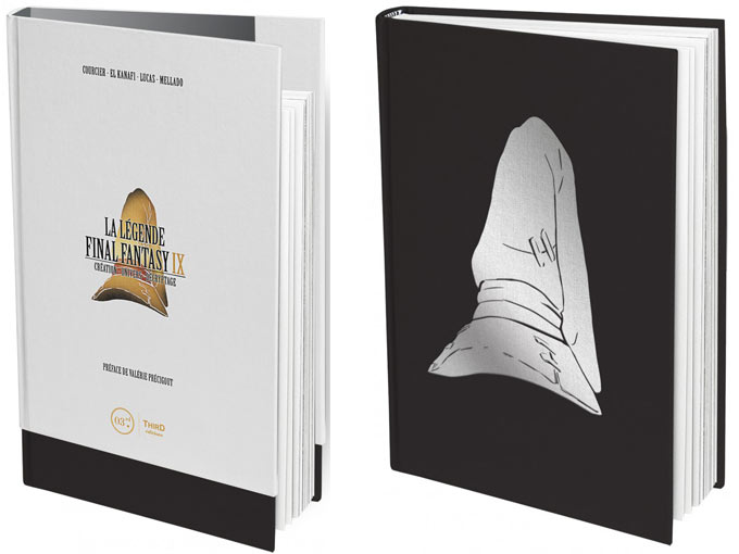 La Legende Final Fantasy 9 Ix Livre Artbook Edition Collector