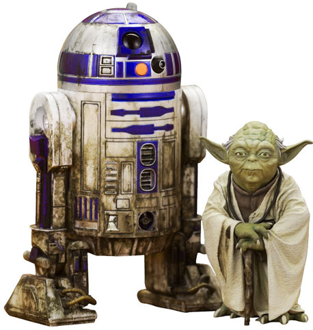 Figurine-yoda-r2-d2-edition-limitee-collector