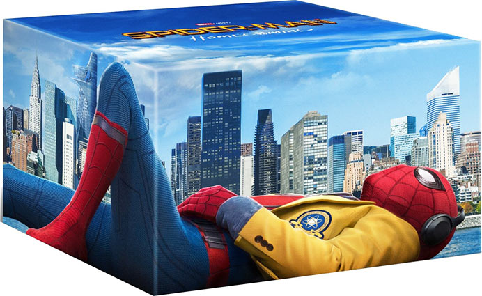 Coffret-collector-Spider-man-Bluray-3D-2017-Homecoming