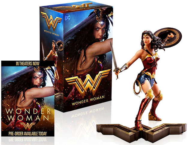 coffret-collector-bluray-dvd-Wonder-Woman-figurine-2017