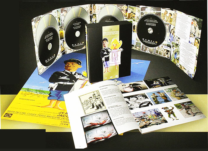 Coffret-collector-Gendarme-Saint-Tropez-integrale-Blu-ray-edition-collector-limitee