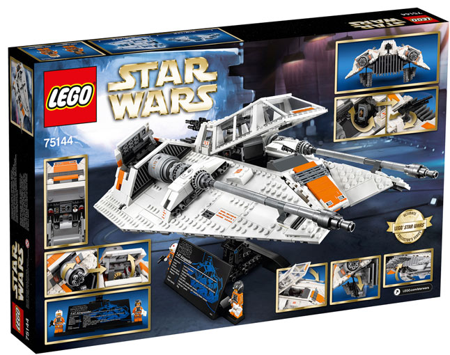 Lego-star-wars-UCS-75144-Snowspeeder-collector-2017