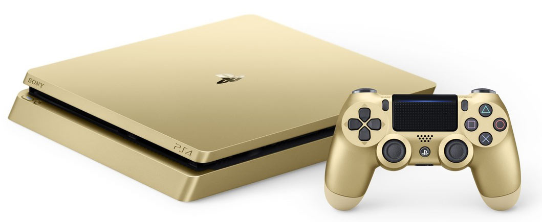 PS4-limited-Gold-edition-Playstation-4-version-or-2017