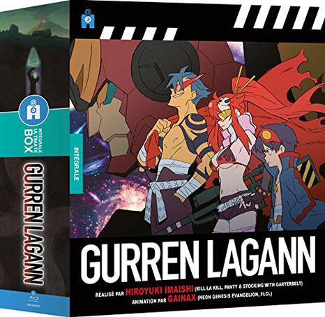Coffret-integrale-Gurren-Lagann-edition-collector-limitee
