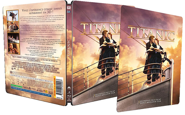 Titanic-boitier-Steelbook-edition-collector-Bluray-DVD-Bluray-3D