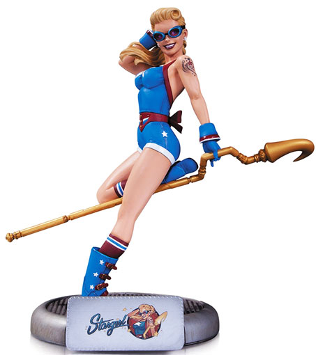 Dc-Comics-Bombshells-Stargirl-Statue-figurine-de-collection