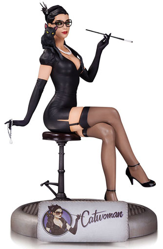 Figurine-sexy-Catwoman-Dc-Comics-Bombshells-edition-limitee