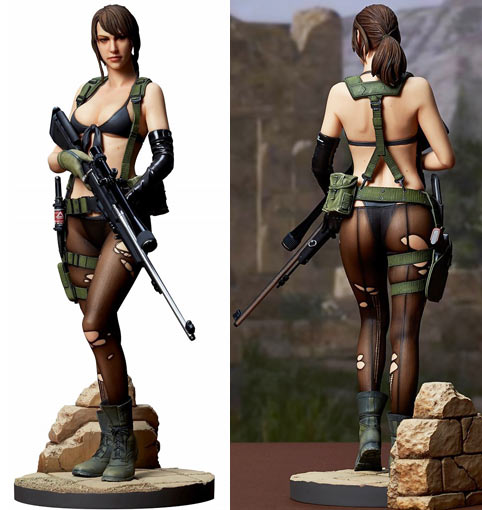 Figurine-sexy-Metal-Gear-Solid-Gecco-collection-edition-limitee-peint-main