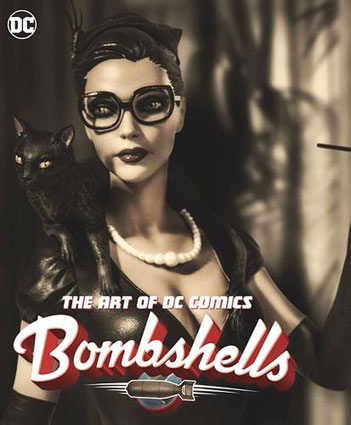 Livre-artbook-dc-comics-bombshells-figurines-sexy-vintage-pin-up