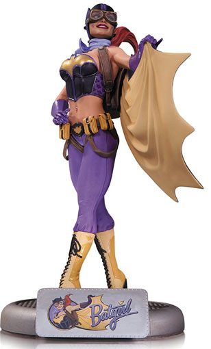 figurine-pin-up-DC-Comics-Bombshells-Batgirl-Statue-edition-limitee-peinte-main