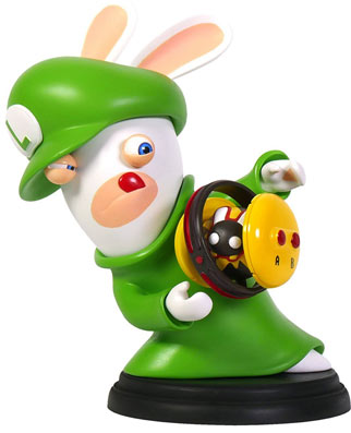 Mario Lapins Crétins Nintendo Switch Figurine édition Collector