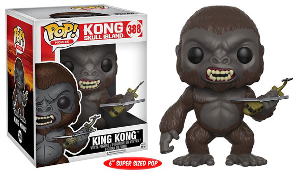 Funko-pop-Kong-Skull-island-figurine-collection