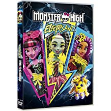 Monster High bluray dvd electrisant coffret