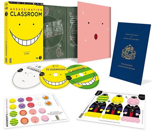 Coffret-collector-assassination-classroom-Blu-ray-DVD-integrale-Box-1-2-3-4