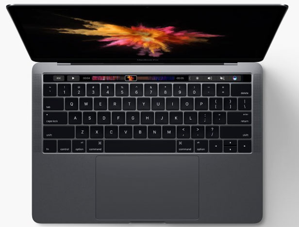 nouveau-apple macbook pro-touch-bar-ordinateur-portable