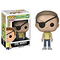 evil morty figurine funko pop