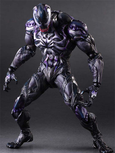 Figurine-Venom-square-enix-Play-arts-kai