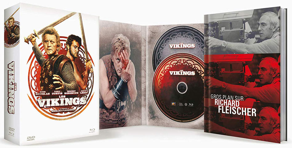 Les-vikings-coffret-collector-Blu-ray-DVD-kirk-douglas-fleischer
