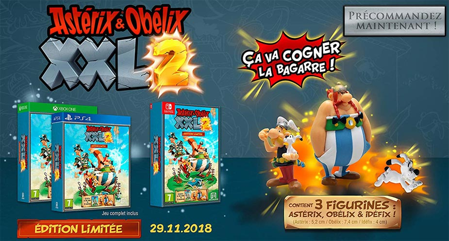 asterix-xxl-PS4-Xbox-Nintendo-Switch-coffret-collector-figurine