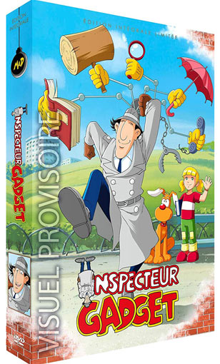 inspecteur-gadget-coffret-integrale-DVD-edition-collector-limitee-Artbook