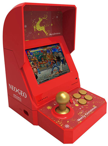 Neo-geo-mini-noel-merry-christmas-edition-limitee-collector