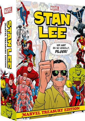 stan-lee-marvel-treasury-edition-2018-BD-Comics-coffret-collector