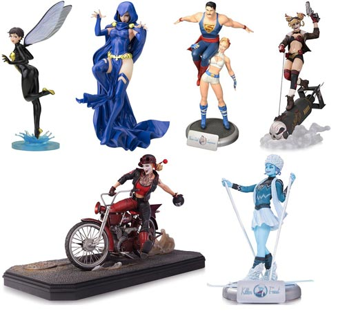 Figurine-collector-DC-Marvel
